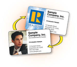 Lenticular Flip Image Business Card