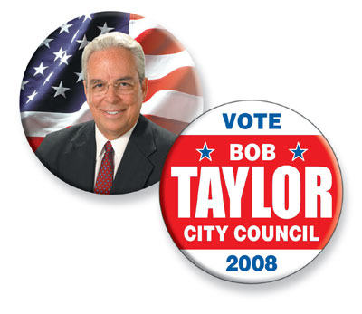 Custom Buttons, Political Campaign Button, Promotional