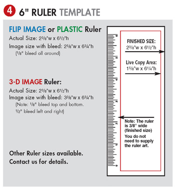 Bookmark or Ruler Template