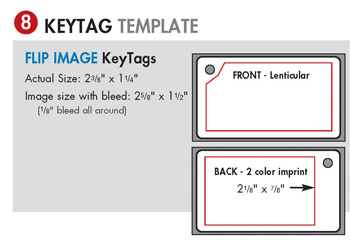 Key Tag Template